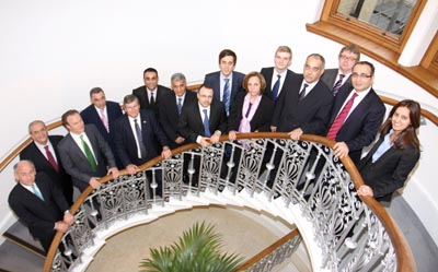 Members of the Nur Energie team and Algerian delegation